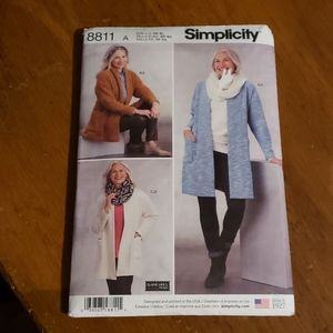 Simplicity 8811 Clothing Pattern